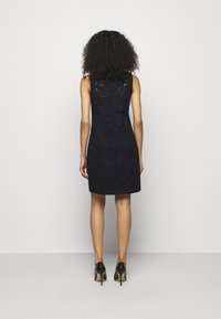 Lauren Ralph Lauren - FLORAL STRIPED DRESS - Shift dress - lighthouse navy - 2