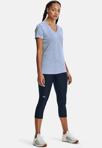 Under Armour - TECH TWIST - Sports shirt - washed blue - 1