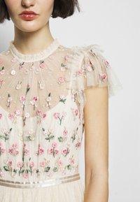 Needle & Thread - ROCOCO BODICE MAXI DRESS - Festklänning - champage - 6