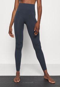 Filippa K - HIGH SEAMLESS LEGGING - Tights - coal - 0