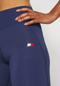 Tommy Sport - BUTT LIFT LEGGING - Legging - blue - 3