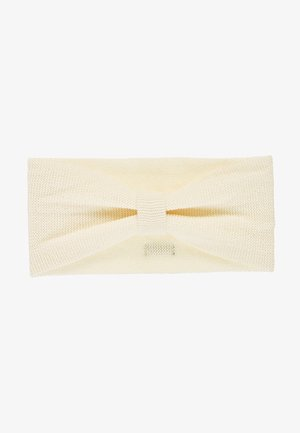 STIRNBÄNDER STRICK STRICK-STIRNBAND - Ear warmers - beige