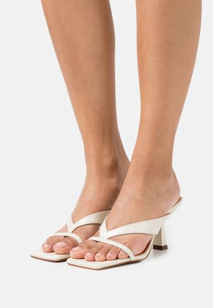 BABETH - T-bar sandals - vieilli ecru