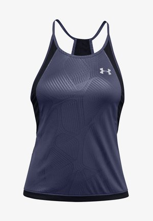 QUALIFIER ISO-CHILL LAUFTANK DAMEN - Top - blue ink