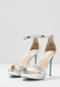 Blue by Betsey Johnson - ALMA - High heeled sandals - silver - 4