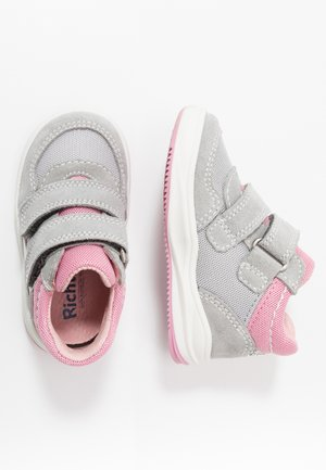 Baby shoes - fog/flint/candy/silver
