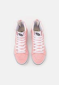 Vans - JN SK8-HI ZIP - High-top trainers - powder pink/true white - 3