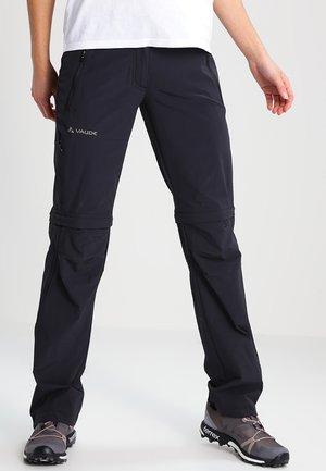 WOMENS FARLEY STRETCH ZIP PANTS - Stoffhose - black