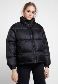 Weekday - BENITA PUFFER JACKET - Winter jacket - black - 0