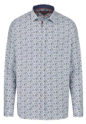 LANGARMHEMD MIT FLORALEM MINIMAL PRINT - Shirt - blau