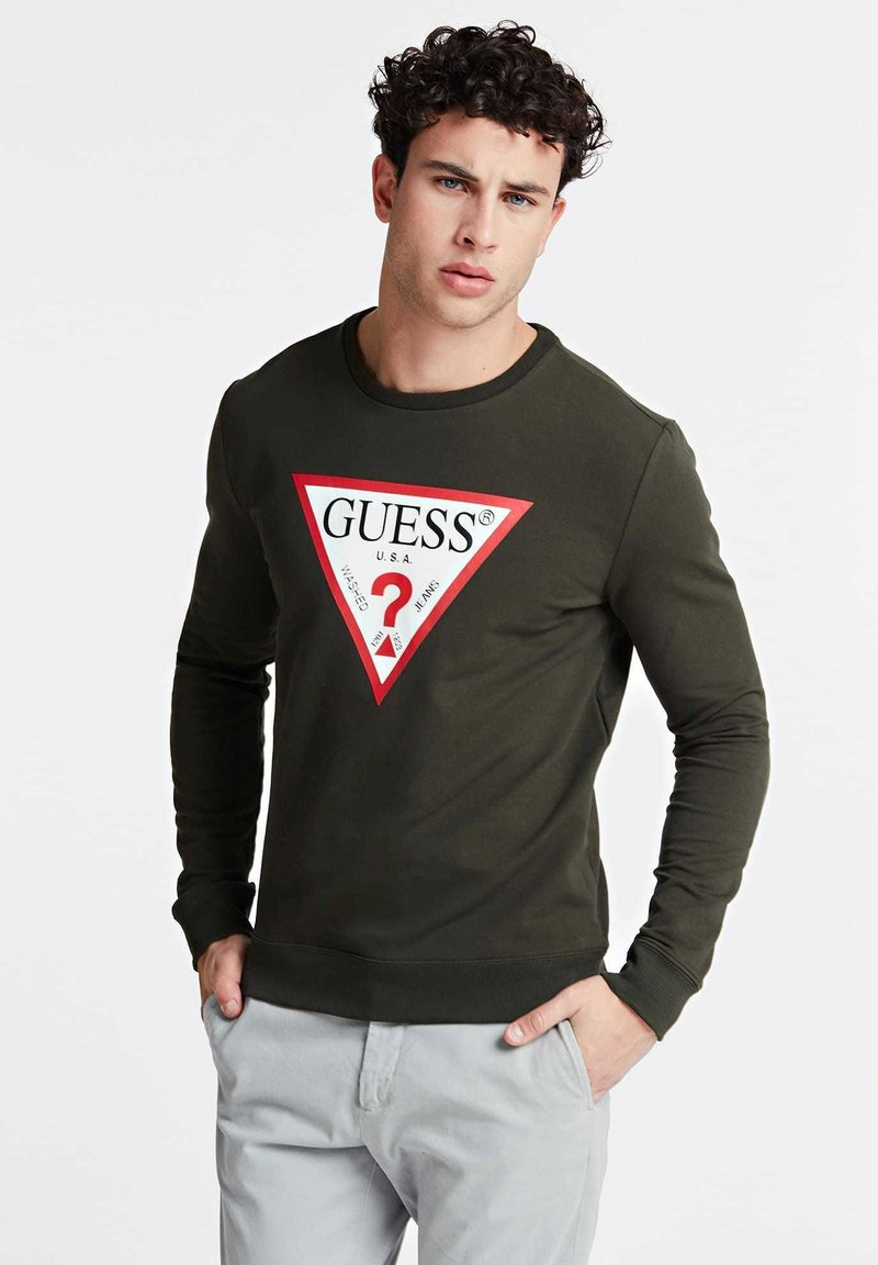Guess - Sweatshirt - green