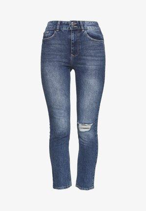 BOYFRIEND JEAN - Jeans Slim Fit - dark-blue denim