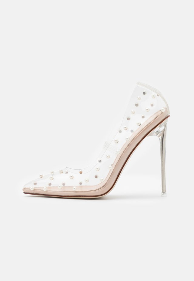 TREASURE - Klassiske pumps - clear