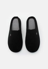 Burton Menswear London - BORG MULE - Kapcie - black - 3