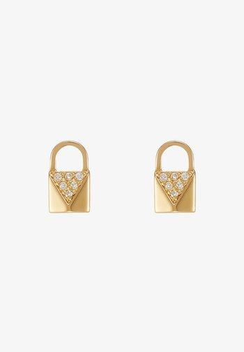 PREMIUM - Earrings - gold-coloured
