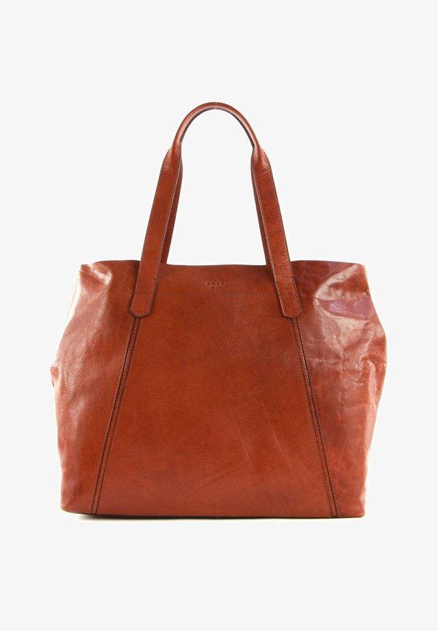Tote bag - midbrown