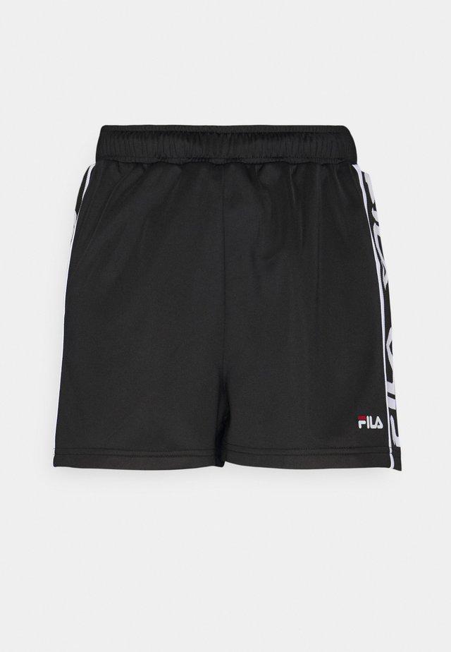 FIONA HIGH WAIST - Shorts - black