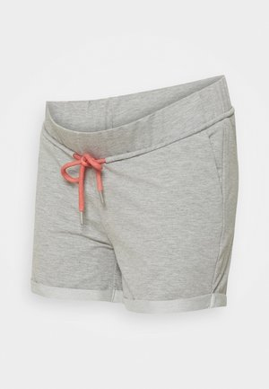 SHORTS - Shortsit - medium grey melange