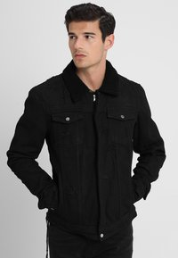 Be Edgy - BEKELVYN  - Kurtka jeansowa - black used - 0