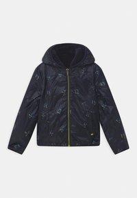 IKKS - 2-IN-1  - Zimní kabát - bronze/navy foncé - 4