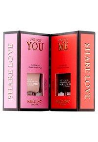 Nails Inc - SHARE LOVE DUO - Nail set - multi - 1