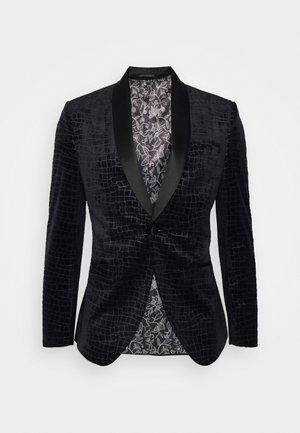 PATTERNED - Blazer jacket - black
