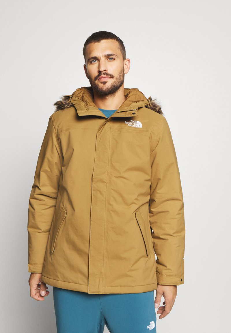 The North Face - ZANECK JACKET UTILITY - Kurtka Outdoor - utility brown