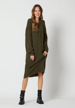 Jumper dress - verde militare