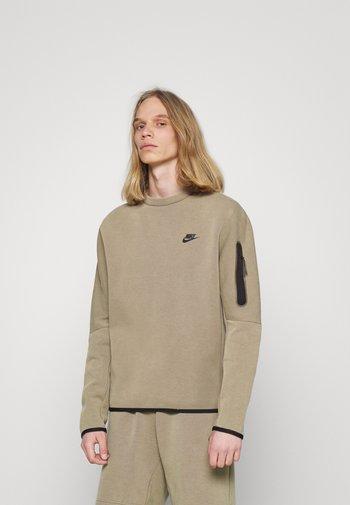 Sweatshirt - taupe haze/black