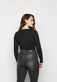New Look Curves - SEAMED - Long sleeved top - black - 2