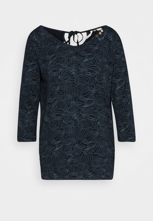 CASIDY ORGANIC - Long sleeved top - navy