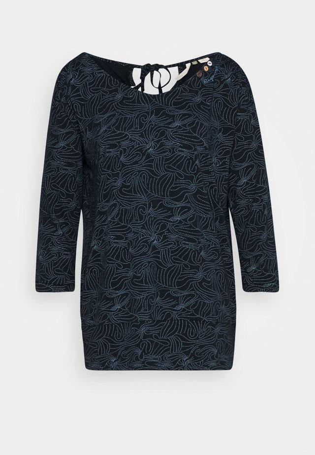 CASIDY ORGANIC - T-shirt à manches longues - navy