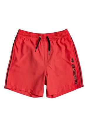 Swimming shorts - high risk red