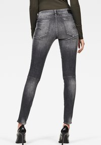 G-Star - G-JACKPANT 3D MID SKINNY - Jeans Skinny Fit - black - 1