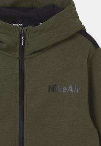 Nike Sportswear - AIR HOODIE - Zip-up hoodie - khaki/black - 2