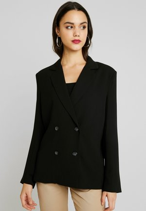 LOOSE SUIT - Short coat - black