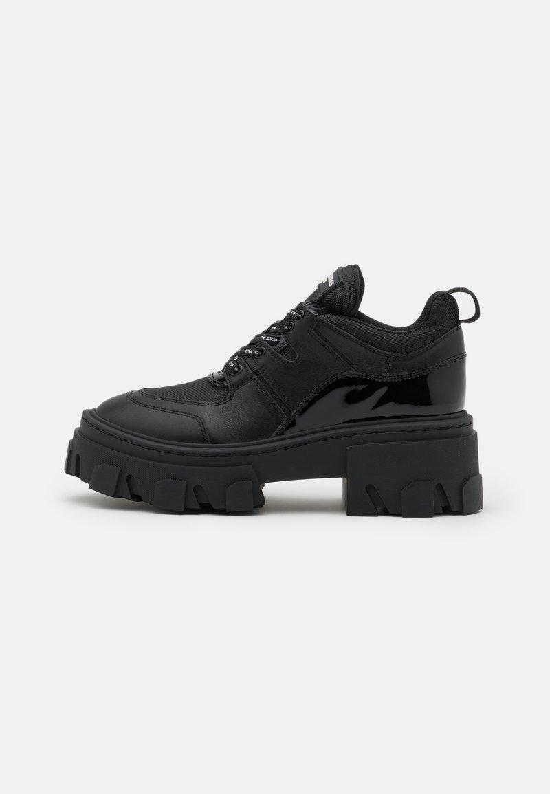 The Kooples - BASKETS AVEC GROSSE SEMELLE - Sneakers laag - black