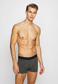 Burton Menswear London - CORE TRUNK 3 PACK - Pants - grey - 0