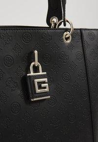 Guess - KAMRYN TOTE - Handbag - black - 3