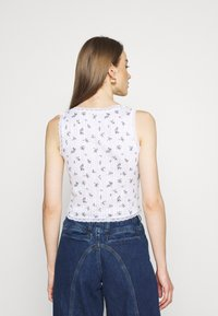 BDG Urban Outfitters - LOLA TRIM DITSY - Top - white - 2