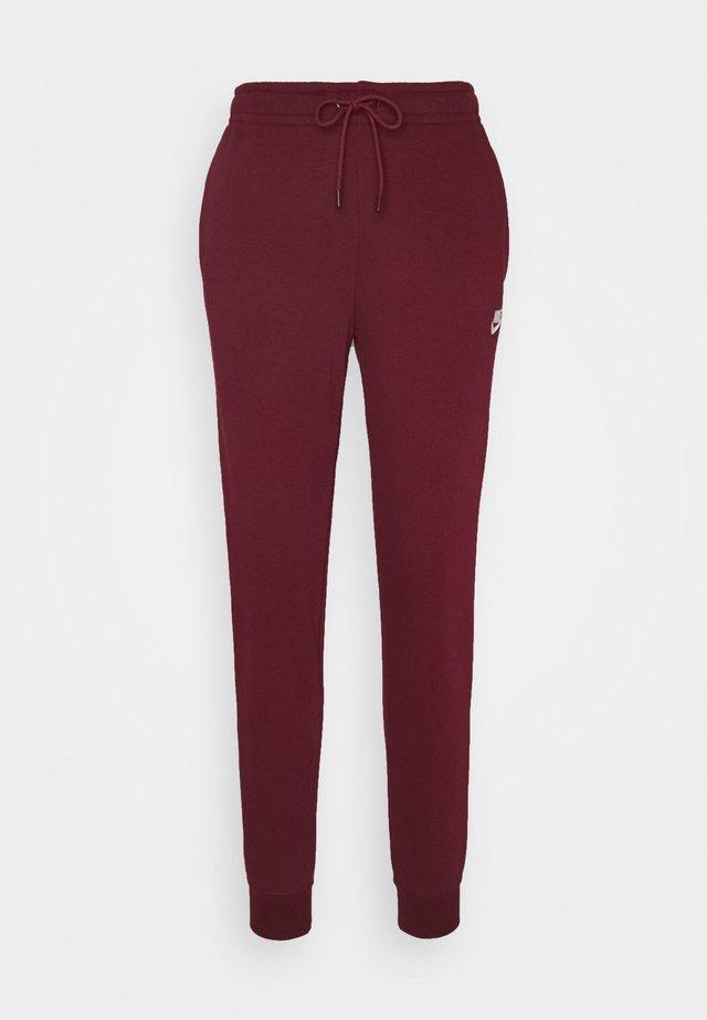 Teplákové kalhoty - dark beetroot