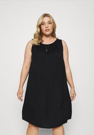 FLUENT - Day dress - deep black