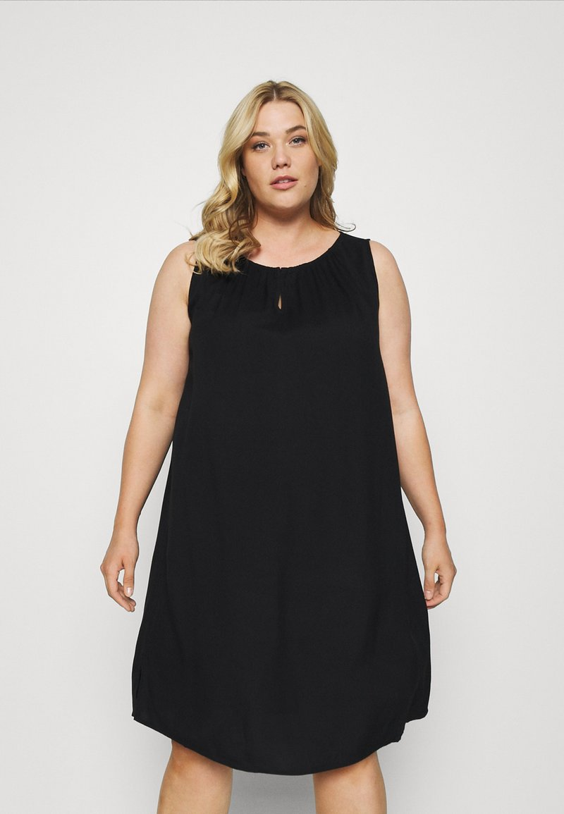 MY TRUE ME TOM TAILOR - FLUENT - Day dress - deep black