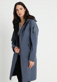 Ilse Jacobsen - FUNCTIONAL RAINCOAT - Parka - blue grayness - 0
