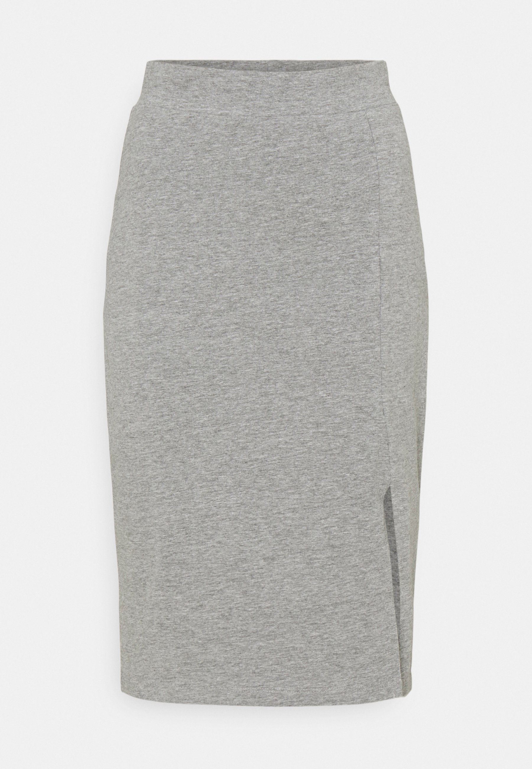 Femme BASIC - Midi skirt with slit - Jupe crayon