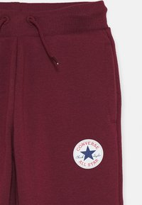 Converse - CHUCK PATCH - Tracksuit bottoms - dark burgundy - 2