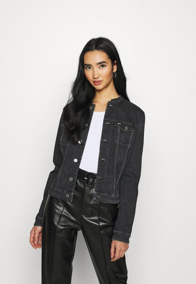 VIVIANNE SLIM - Denim jacket - iris black