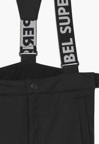 SuperRebel - SUSTAINABLE PLAIN - Zimní kalhoty - black - 2