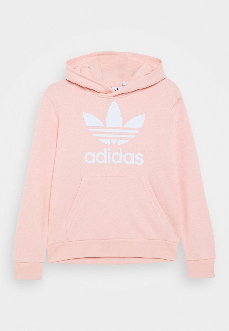 adidas Originals - TREFOIL HOODIE - Hoodie - haze coral/white