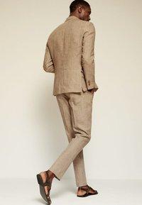 Mango - Blazer jacket - beige - 2